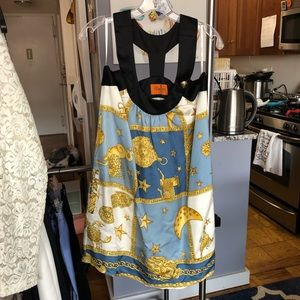EUC printed dress Voom by Joy Han